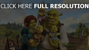 shrek fiona kinder familie