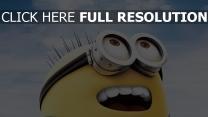 minions minion gläser freude himmel
