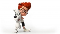 mr peabody sherman hund junge brille