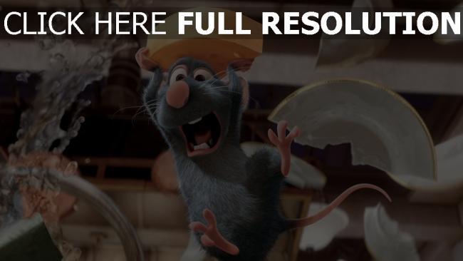 hd hintergrundbilder ratatouille ratte koch käse