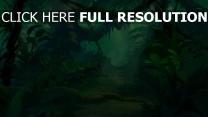 der könig der löwen disney dschungel landschaft grün
