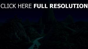 dschungel nacht landschaft disney der könig der löwen