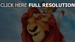 simba der könig der löwen löwe mufasa disney