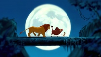 simba stamm dschungel pumbaa mond nacht der könig der löwen timon disney