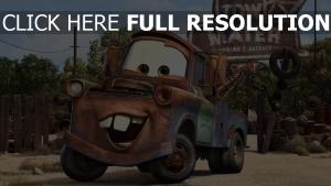 hook pixar rost disney schrottplatz cars
