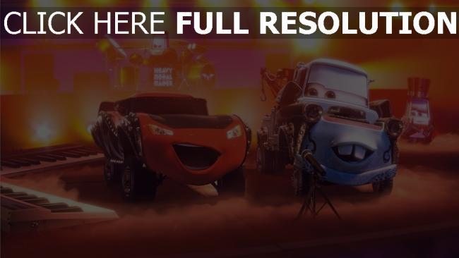 hd hintergrundbilder lightning mcqueen pixar disney cars hook heavy metal hook