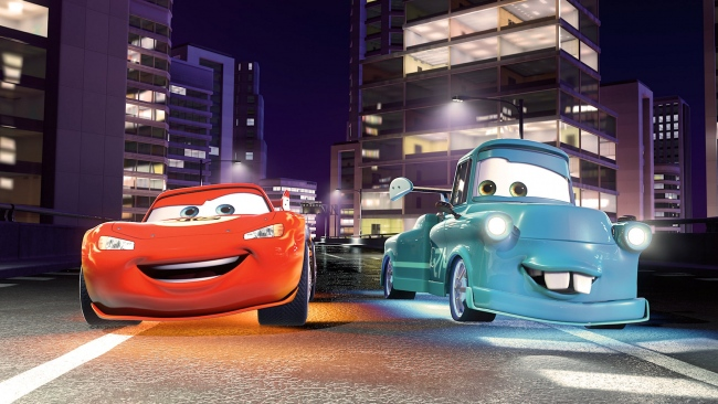 hd hintergrundbilder nacht lightning mcqueen disney hook pixar cars