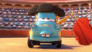 cars pixar hook matador disney