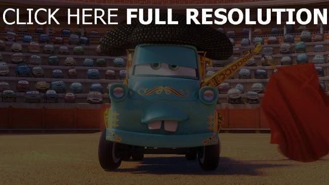hd hintergrundbilder cars pixar hook matador disney