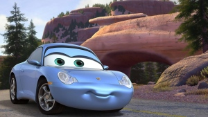 pixar disney cars sally carrera