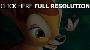 schmetterling disney bambi gesicht