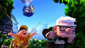 luftballons carl fredricksen haus dschungel oben disney pixar russel junge