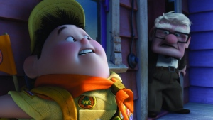 veranda pixar oben junge disney carl fredricksen russel