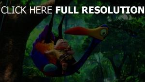 disney kevin pixar vogel russel dschungel junge oben