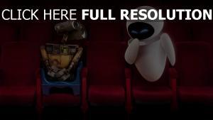 kino paar wall-e disney eve pixar