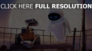 disney mond eve paar pixar wall-e