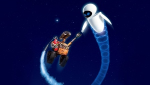 flug eve wall-e disney nacht pixar sterne