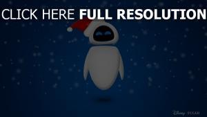 pixar schnee wall-e eve weihnachten disney