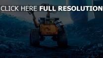 winken pixar geste disney wall-e müll