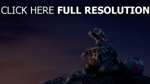 sterne wall-e disney nacht pixar trödel