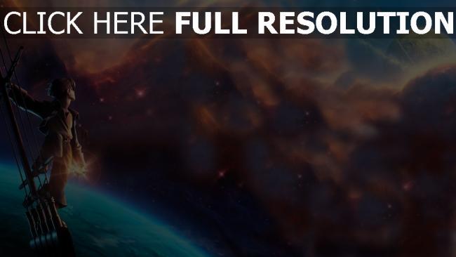 hd hintergrundbilder disney der schatzplanet jim hawkins weltraum