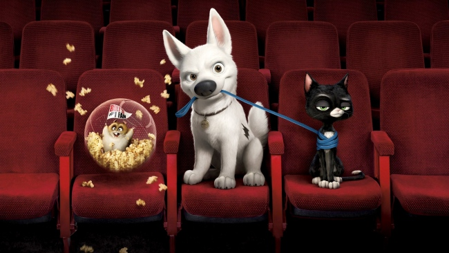 hd hintergrundbilder kino mittens disney hamster bolt dino katze hund