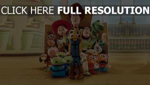 jessie zögern toy story charlie naseweis sunnyside pixar box barbie disney buzz lightyear woody rex specki