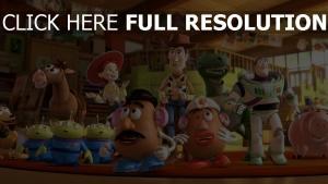 jessie pixar buzz lightyear sunnyside woody toy story specki rex charlie naseweis disney