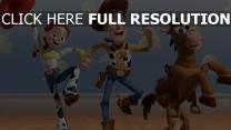 disney woody pixar bullseye jessie toy story