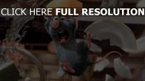schrei ratte käse ratatouille pixar remy
