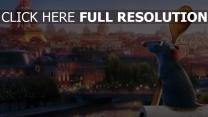 ratatouille eiffelturm pixar paris ratte stadt löffel