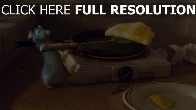hd hintergrundbilder essen ratte pixar ratatouille