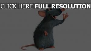geste ratte pixar ratatouille remy