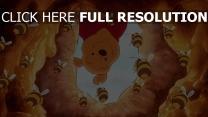 winnie puuh honig disney bienen