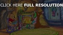 kamin ferkel känga disney weihnachten roo winnie puuh