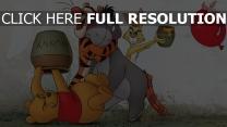 ballon winnie puuh rabbit i-ah ferkel tigger disney honig