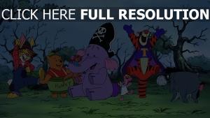 i-ah kostüme halloween tigger ferkel roo winnie puuh disney rabbit