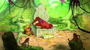 disney orang-utan affe king louie das dschungelbuch