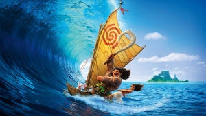 disney maui welle ozean vaiana boot