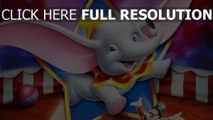 disney elefant feder zirkus dumbo