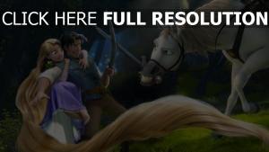kampf rapunzel pferd disney haar flynn rider neu verföhnt chamäleon maximus