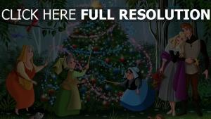dornröschen aurora weihnachten disney fee prinz