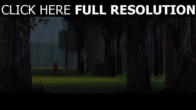 hd hintergrundbilder dornröschen aurora wald disney