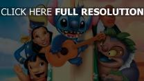 lilo disney stitch außerirdische gitarre lilo & stitch