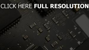 mikrochips chips schwarz