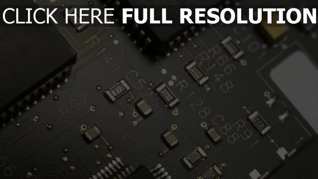 hd hintergrundbilder mikrochips chips schwarz