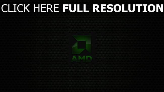 hd hintergrundbilder amd logo emblem inschrift grün