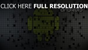 android textur mosaik grau grün