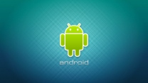 android logo emblem blau grün