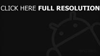 android grau roboter logo mascot